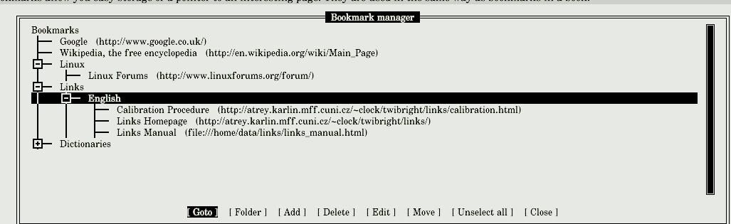 Links user documentation