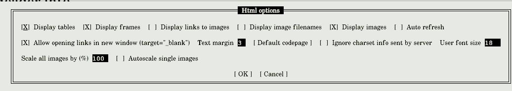 bash script font size